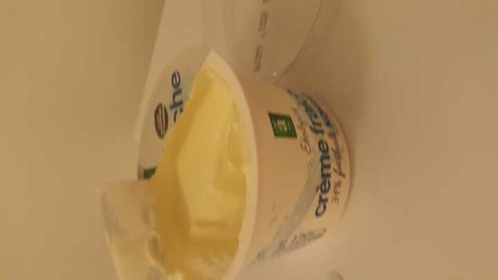 Creme fraiche (half,opened)