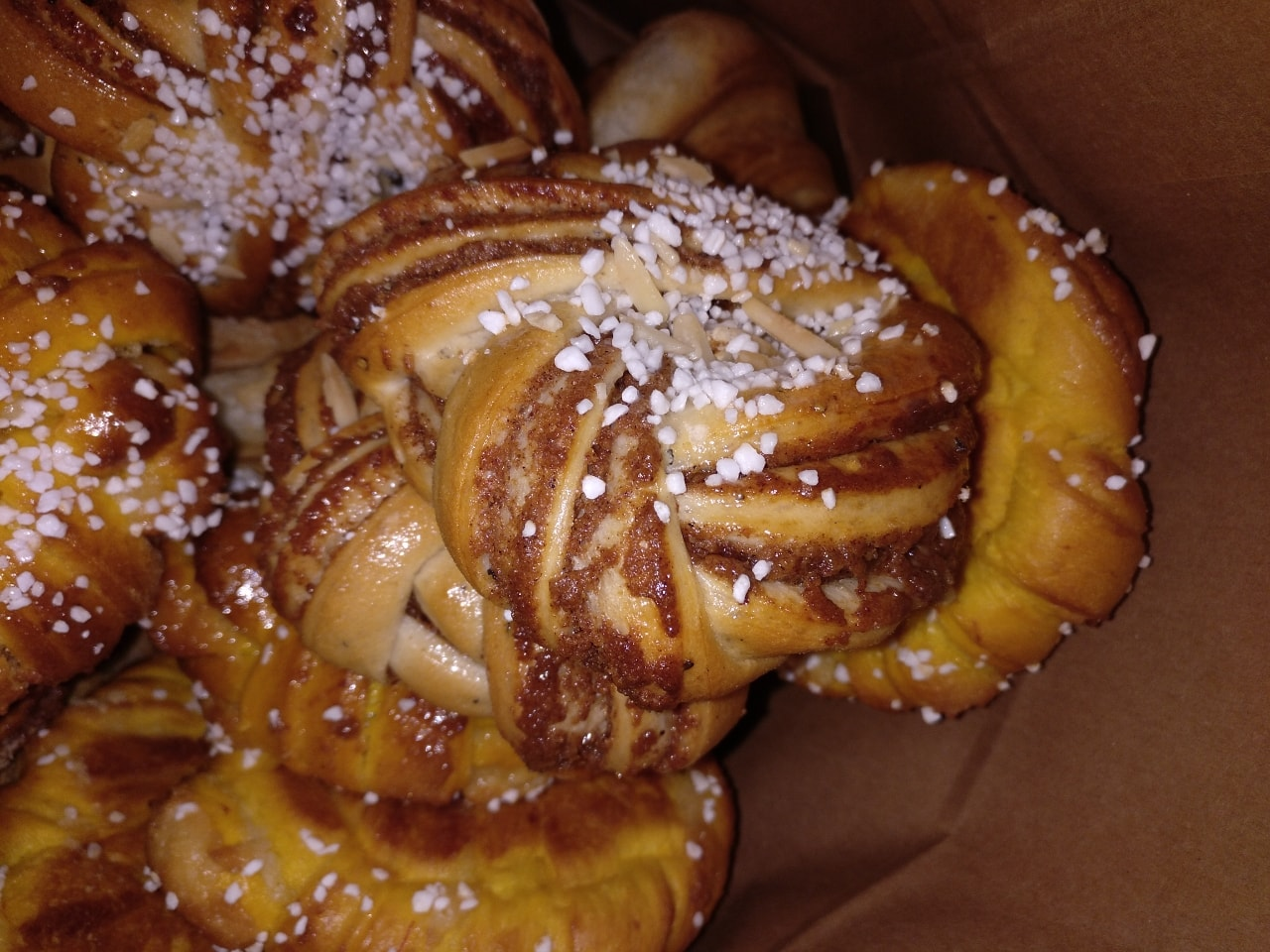 Cinnamon rolls from today 28/12