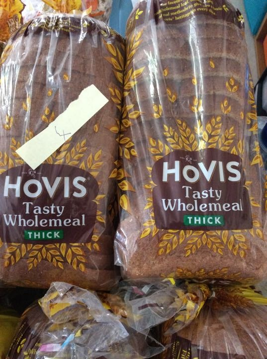 Hovis thick sliced wholemeal
