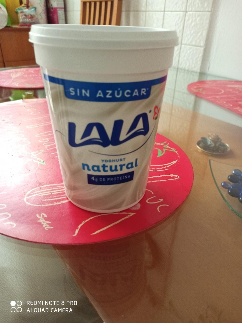 Yogurth natural 1 litro.