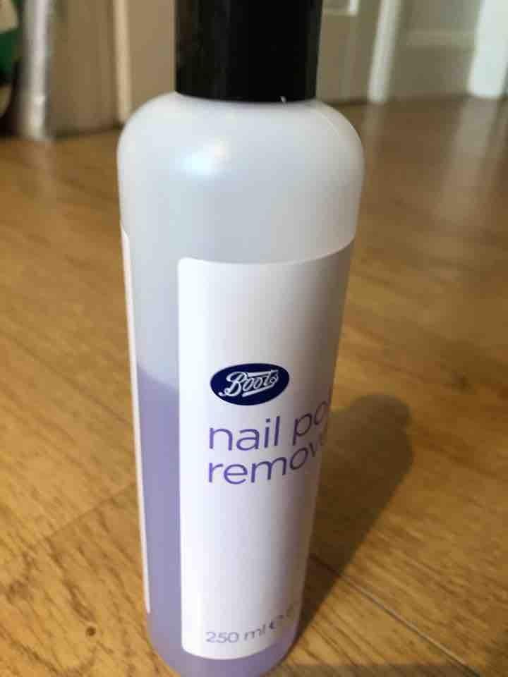 Nail varnish remover