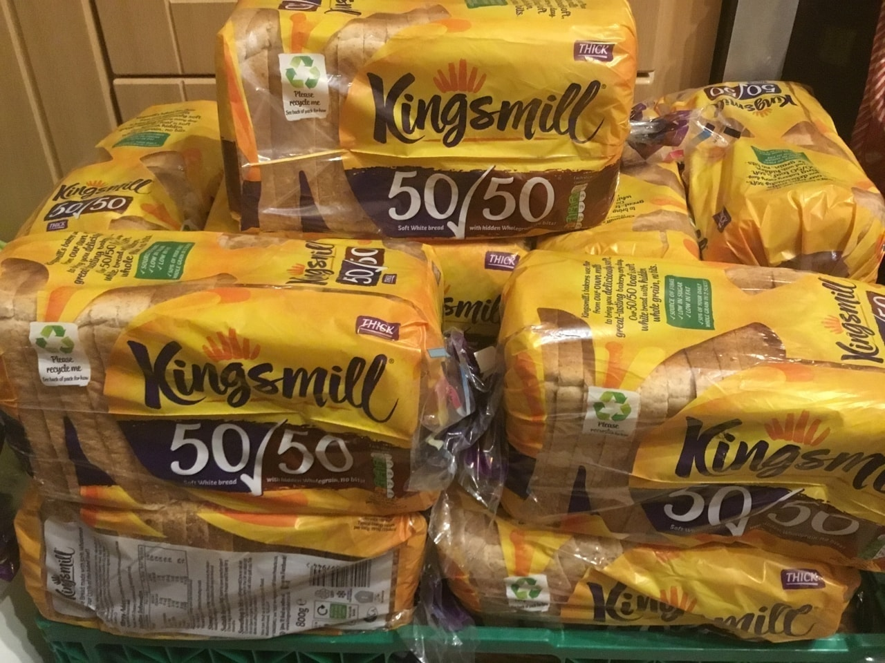 Kingsmill 50/50 thick x3