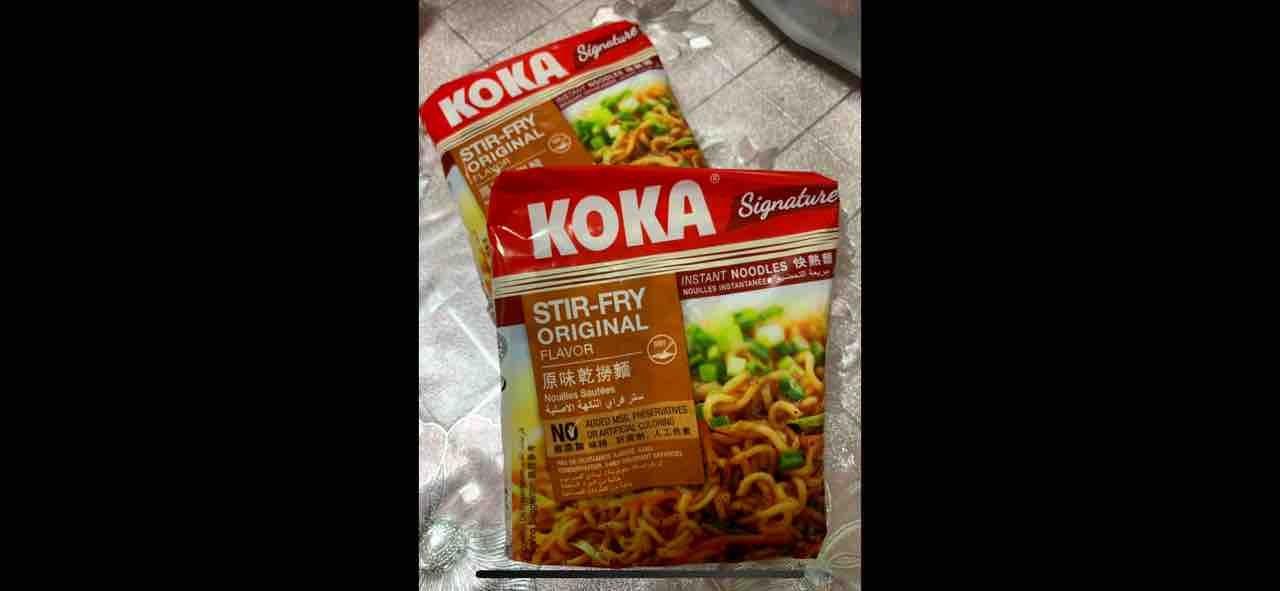 Koka Stir-Fry Original flavour instant noodles