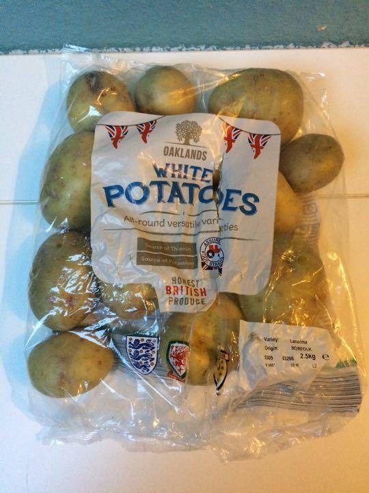 White potatoes, approx 2kg