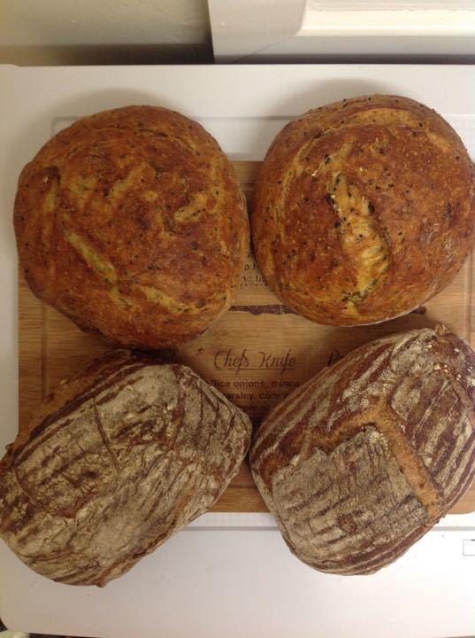 Artisan fresh bread