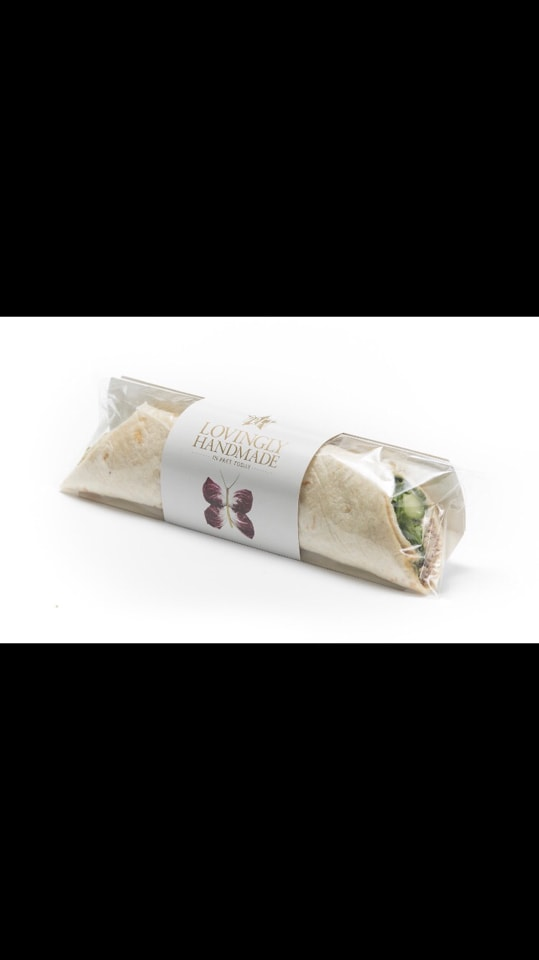 Homous and chipole wrap