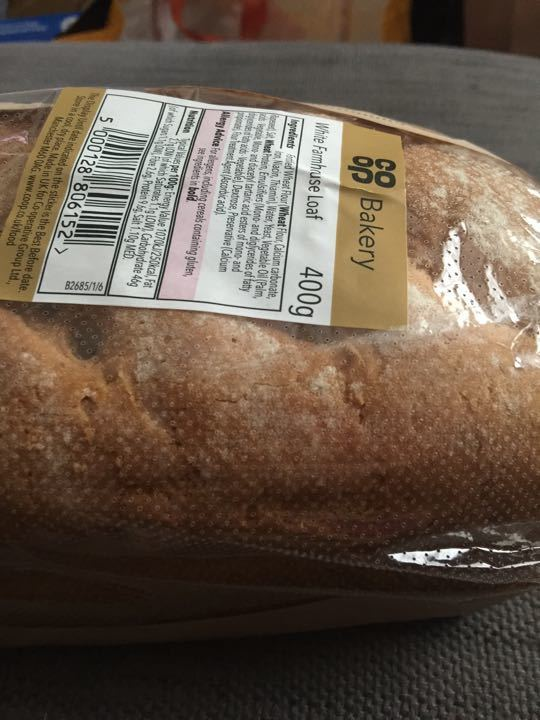 White crusty loaf