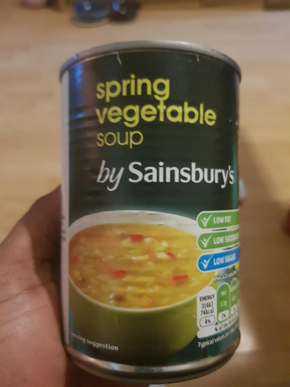 Spring Veg Soup