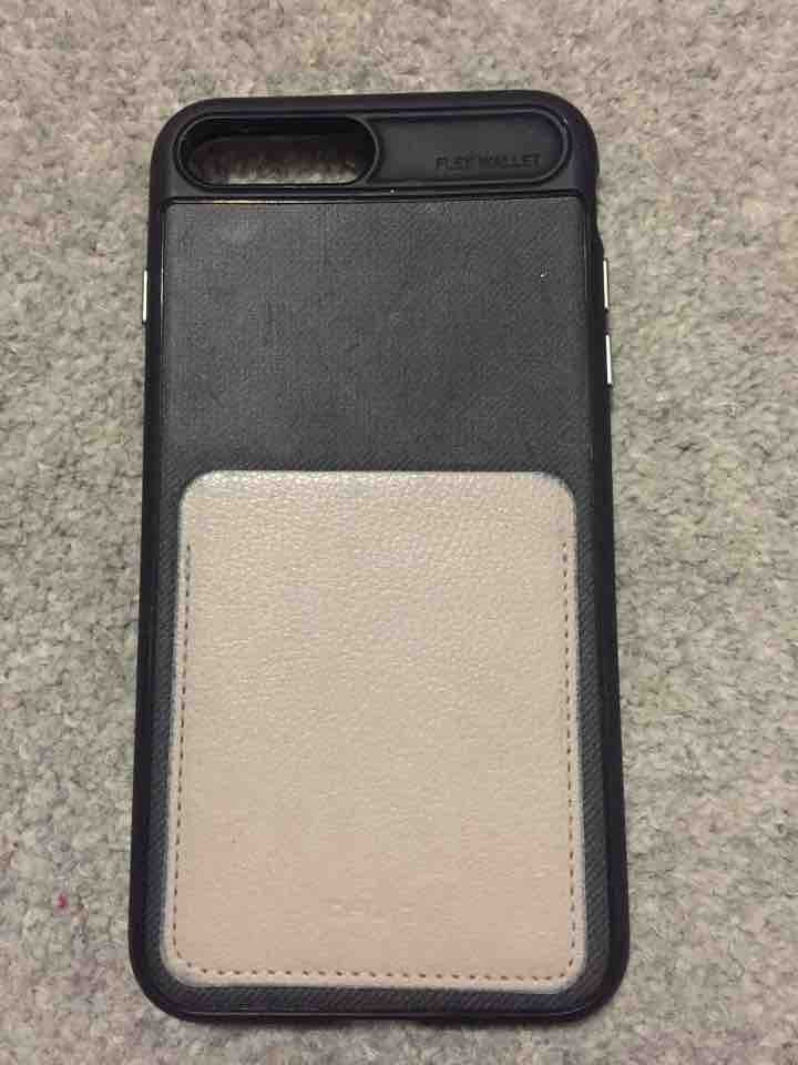 iPhone 7 Plus case with wallet