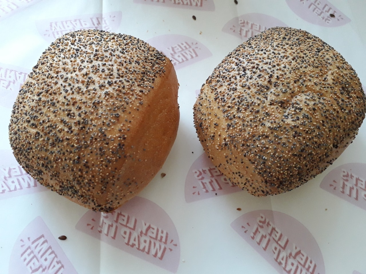 Poppy seeds breads from Lindquists