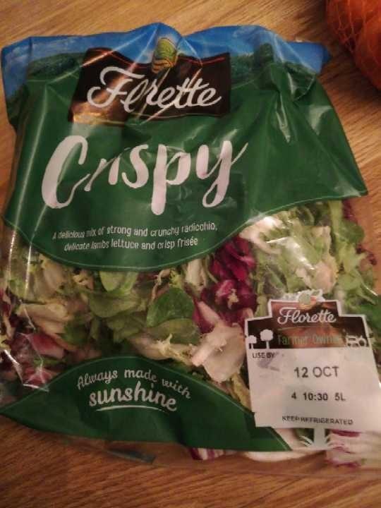 Crispy salad bag