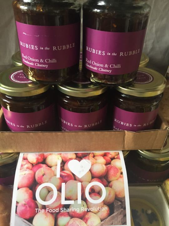 12 jars of chutney -Rubies in the rubble