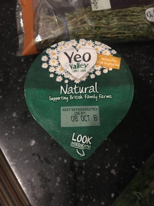 Yea valley natural yogurt