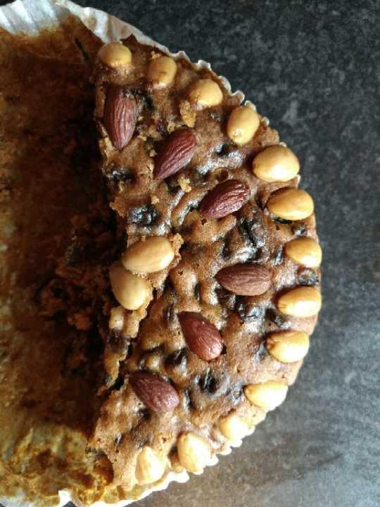 Half a Waitrose Dundee cake