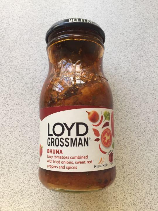 Loyd Grossman bhuna curry sauce