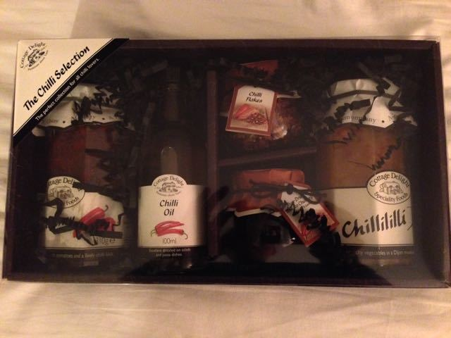 Unopened Chilli Selection gift box