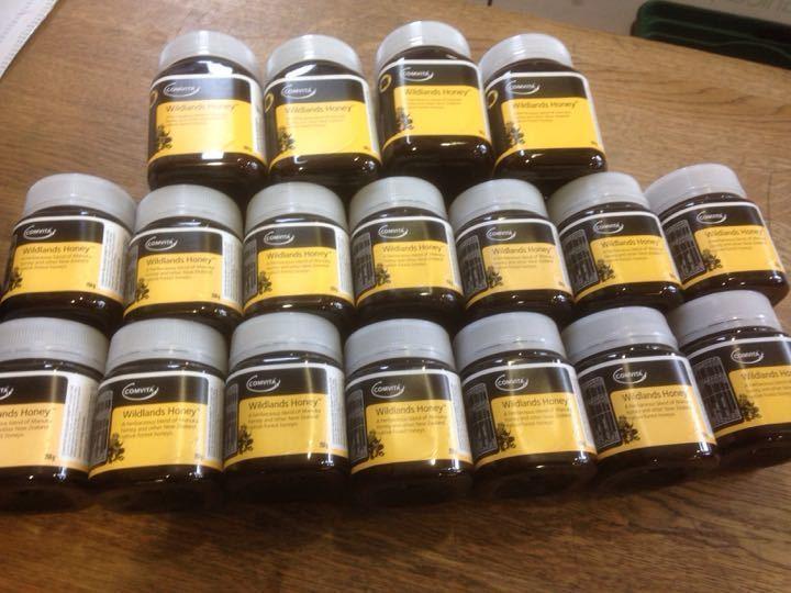 Wildlands Honey 18 jars
