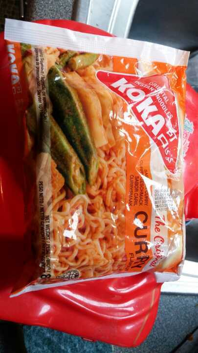 Curry noodle pack