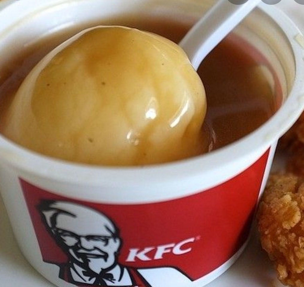 KFC whipped potato - collect today