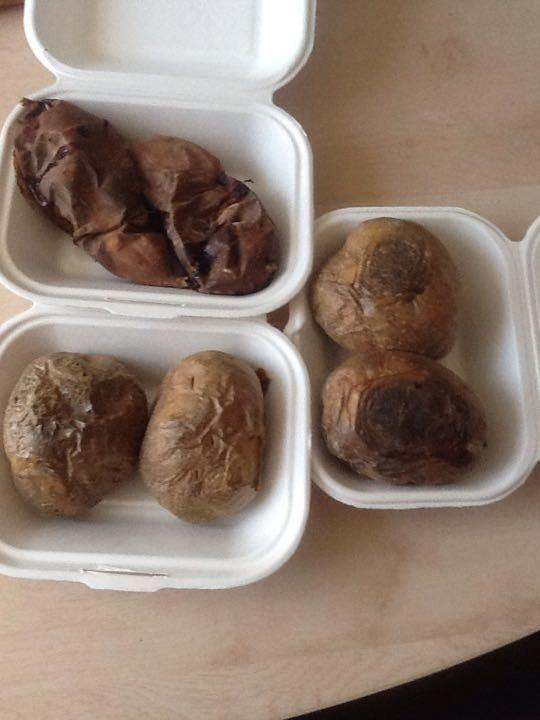 Baked potatoes/sweet potatoes