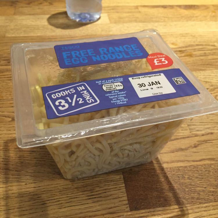 Free egg noodle