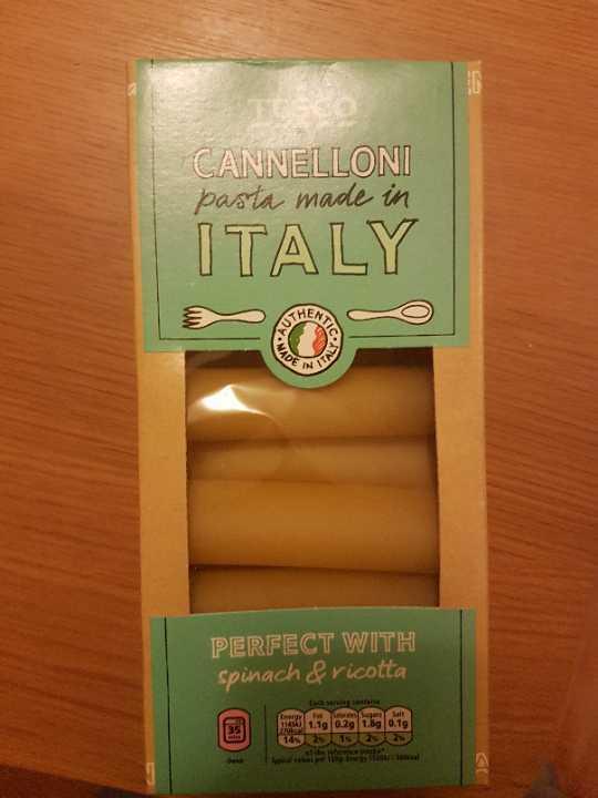 TESCO Cannelloni Pasta