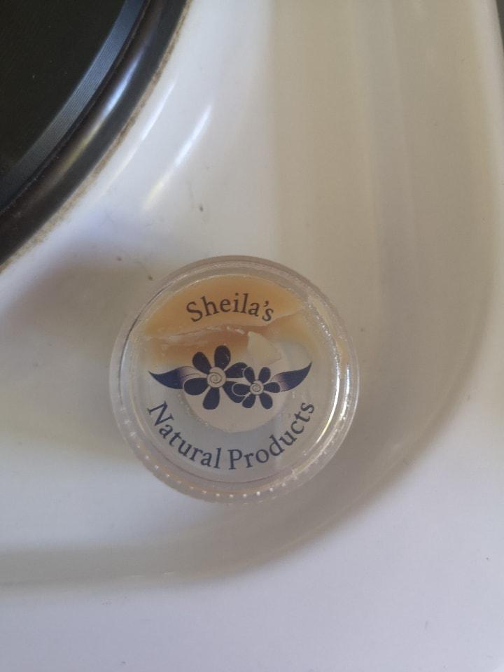 Shelia's natural face cream sample