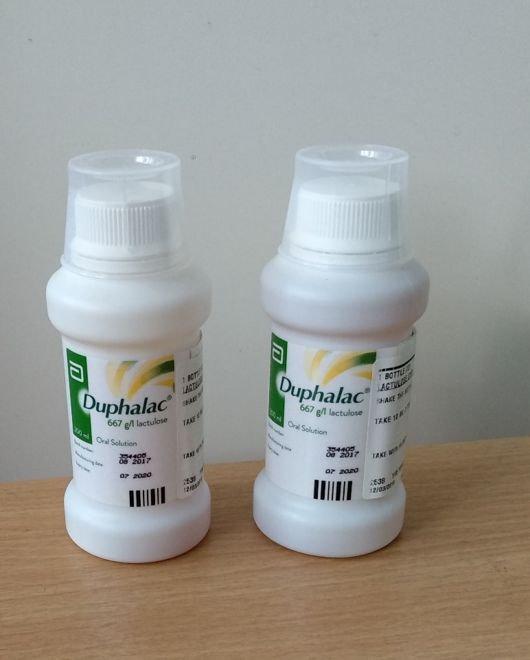 Medicine - Duphalac (for constipation)