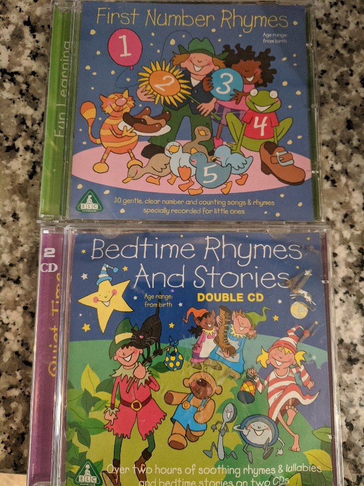 Nursery and Bed time rhymes CDs