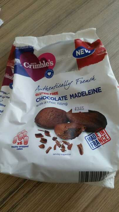 Chocolate madelaines from Temple Stores