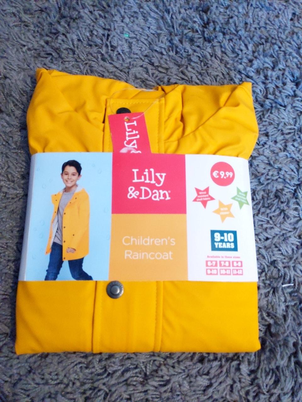 Children's Yellow Raincoat