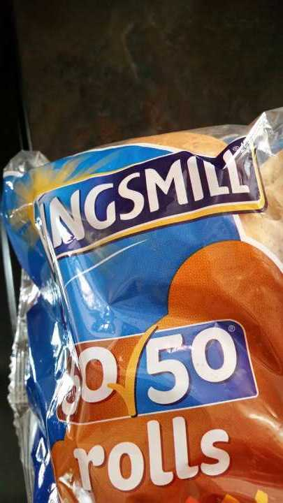 Kingsmill 50/50 rolls freeze and ideal for pack lunches