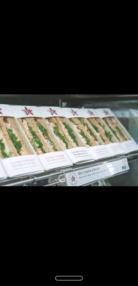 Pret A Manger Egg Sandwiches