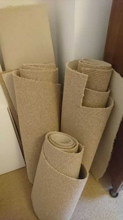 Wool carpet offcuts