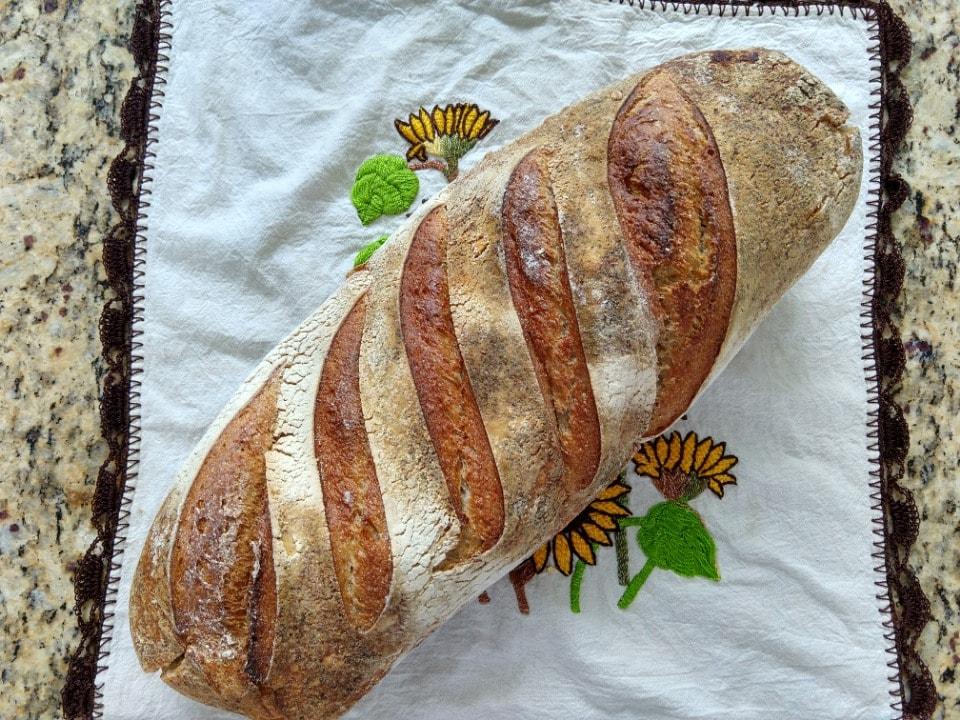 Hogaza grande de pan