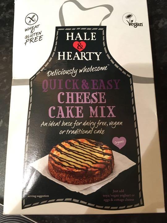 Organic vegan cheesecake mix