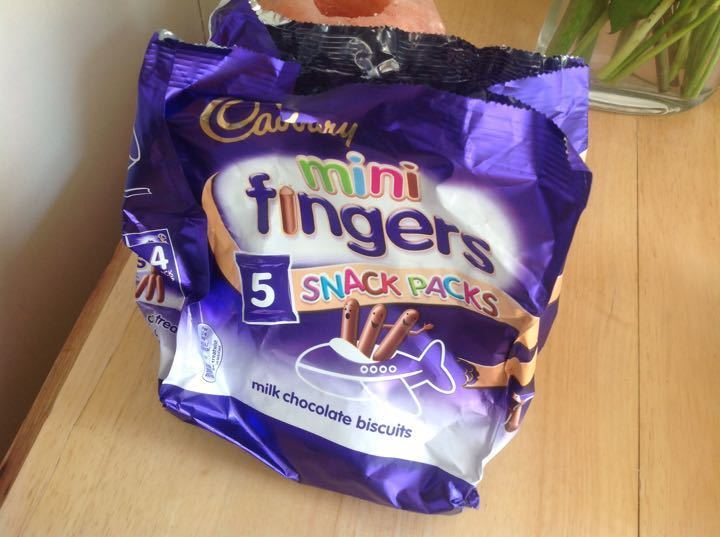 Cadbury mini fingers 5 small packets