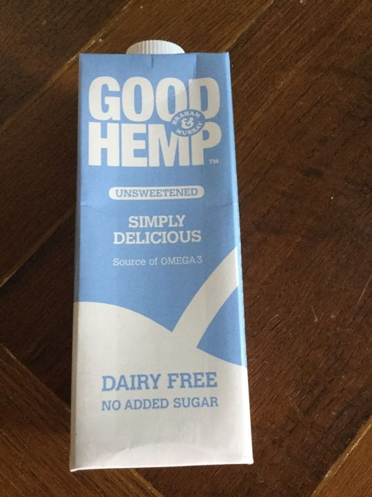 Dairy free Hemp Milk