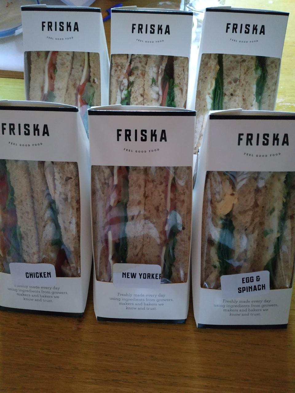 FRISKA - sandwiches