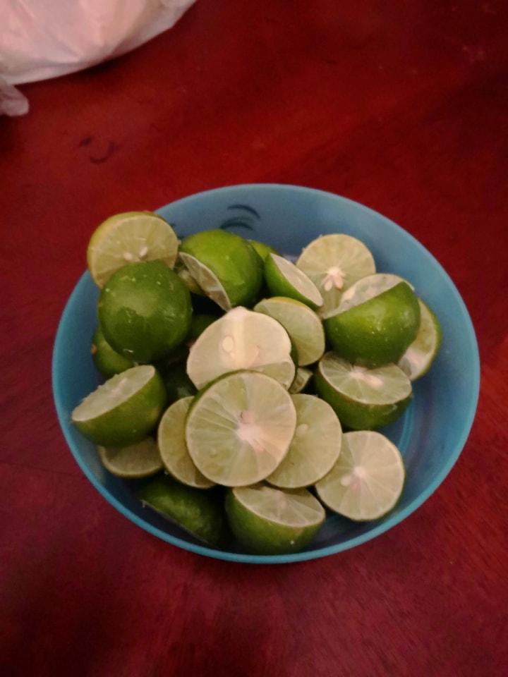 Limones bien jugosos