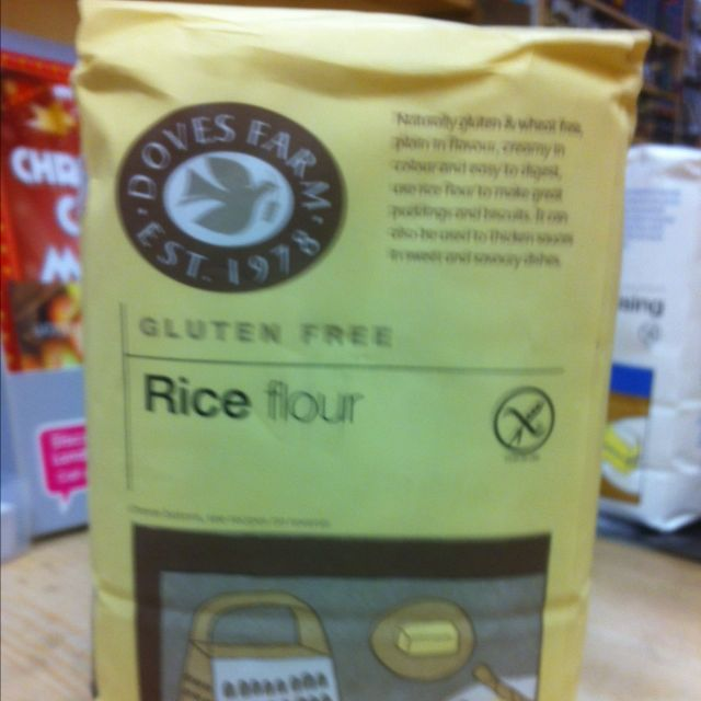 rice flour (gluten free)
