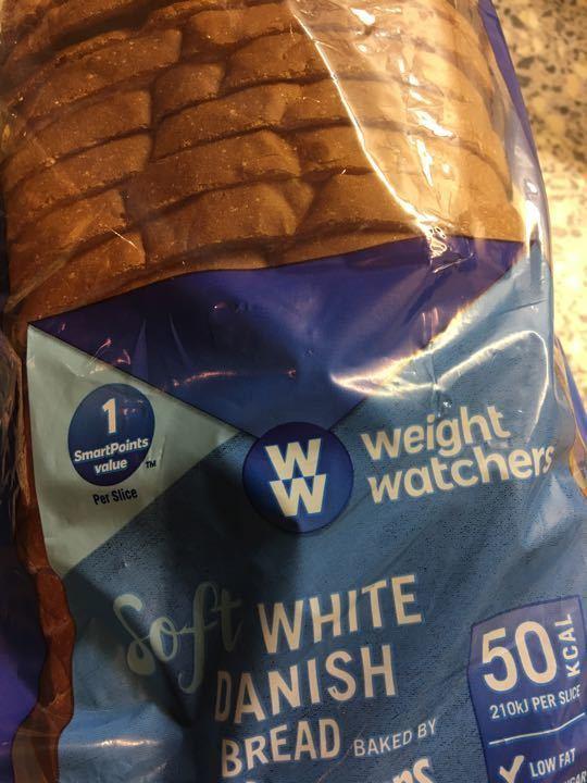 Weight Watchers sliced
