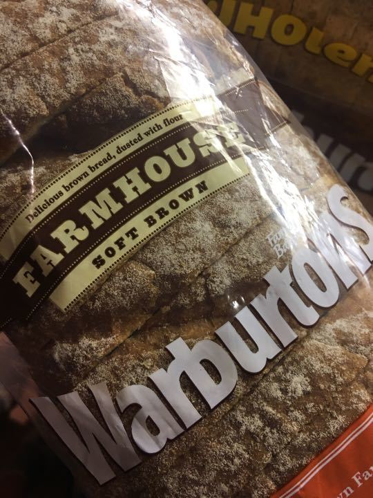 Warburtons wholemeal sliced