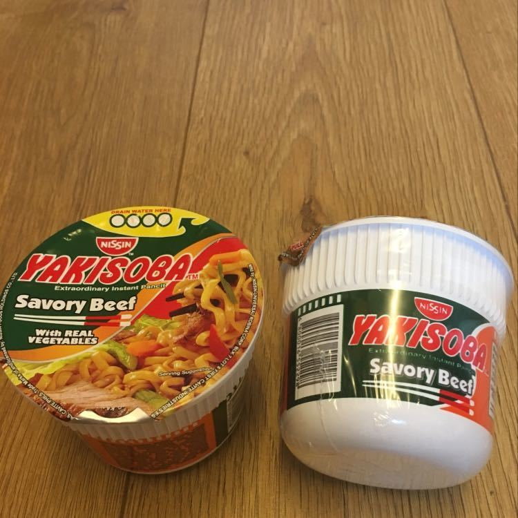 Yakisoba Dried noodle pot