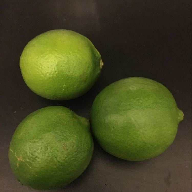 3x Fresh Limes