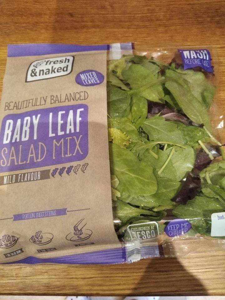 Baby leaf salad mix