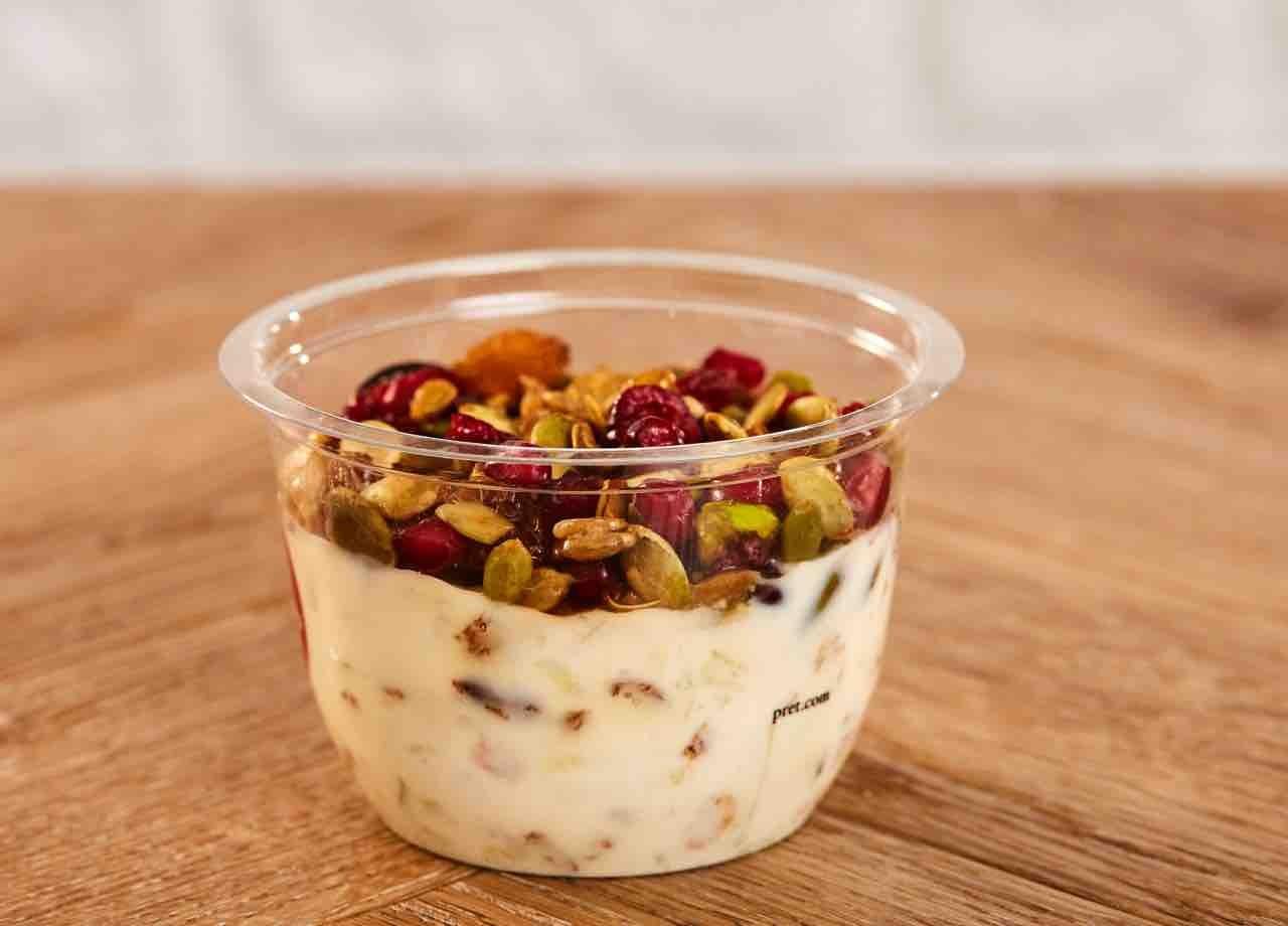 Pret A Manger yogurt pots