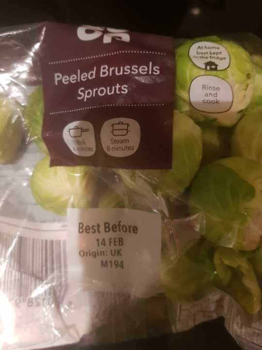 Peeled Brussels