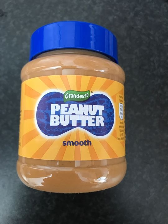 Peanut butter - smooth only one teaspoon used