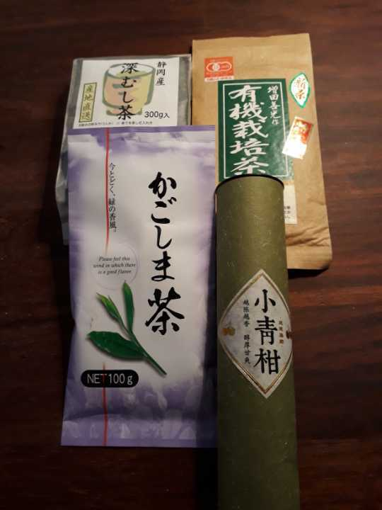 Selection of Japanese and Chinese teas